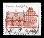 Museum Lund, serie, circa 1982 Royaltyfria Foton