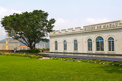 Museum of macau. Located on the hill of the Fortaleza do monte, macau Stock Image