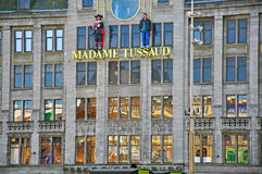 Museum madame Tussaud in Amsterdam Royalty Free Stock Photo