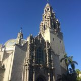 Museum of Man in Balboa Park Stock Photo