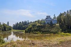 Museum of the manor of Nabokov. In Rozhdestvenno Royalty Free Stock Photos