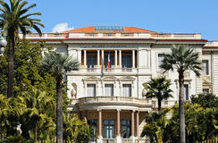Museum Massena. (Musee Massena) in Nice, France royalty free stock photography