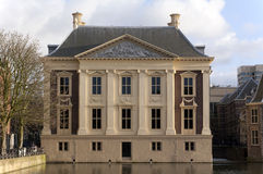 Museum The Mauritshuis in The Hague Royalty Free Stock Photo