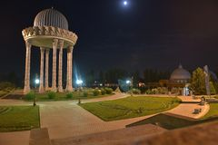 The Museum of memory of victims of repression - is located in the centre of Tashkent. Tashkent, Uzbekistan - August 02, 2015: the Museum of memory of victims of Stock Photo