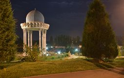The Museum of memory of victims of repression - is located in the centre of Tashkent. Tashkent, Uzbekistan - August 02, 2015: the Museum of memory of victims of Royalty Free Stock Image