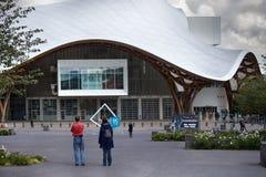 Museum Metz-zeitgenössischer Kunst - Centre Pompidou Lizenzfreies Stockbild