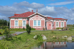 Museum of Mikhail Lomonosov in the village Lomonosovo, Russia Royalty Free Stock Photo