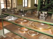Museum mint. In Banská Štiavnica Stock Photo
