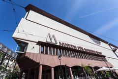 Museum of Modern Art in Frankfurt Main Royalty Free Stock Photo