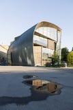 Museum for modern art Kiasma in capital of finland helsinki. In summer Royalty Free Stock Photos