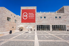 Museum of Modern Art. LISBON, PORTUGAL - JUNE 25: Museum of Modern and Contemporary Art (Museu Berardo) on June 25, 2014 in Lisbon, Portugal Stock Photography