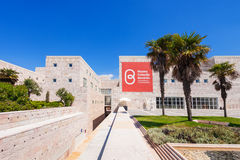 Museum of Modern Art. LISBON, PORTUGAL - JUNE 25: Museum of Modern and Contemporary Art (Museu Berardo) on June 25, 2014 in Lisbon, Portugal Stock Photo
