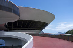 Museum for modern art (MAC) in Niteroi - Rio de Janeiro Brazil Stock Photos