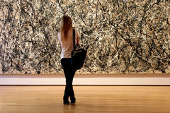 Museum of Modern Art  in New York City Royalty Free Stock Photos