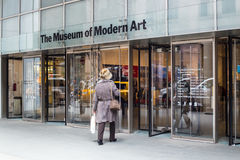 Museum of Modern Art NYC Stock Image