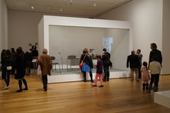 The Museum Of Modern Art October 2015 9 Royalty Free Stock Photos