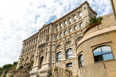 A Museum in Monaco. The Museum of Oceanography in Monte Carlo, Monaco Stock Images