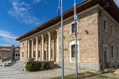 Museum and monument of Communist leader Georgi Dimitrov in village of Kovachevtsi, Bulgaria Stock Photography