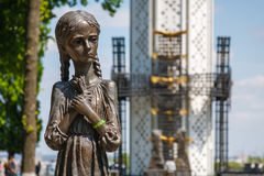 Museum and Monument to the Holodomor. Royalty Free Stock Images