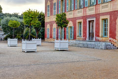 Museum - Musee Matisse, Nice, France. stock photography