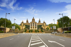 Museum National d'art de Catalunia (MNAC) 3. At Barcelona Spain Royalty Free Stock Photo