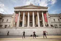 Museum national gallery in London 2017 Stock Images