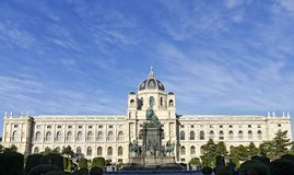 Museum of Natural History and the memorial of the empress Maria Theresa, Vienna Stock Photo