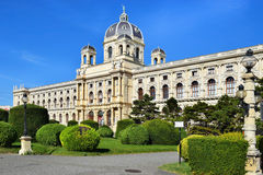Museum of Natural History (Naturhistorisches Museum) in Vienna, Austria Royalty Free Stock Photos