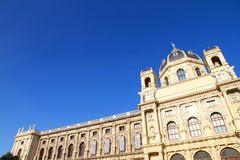 The Museum of Natural History in Vienna Stock Photo