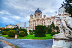 Museum of Natural History in Vienna, Austria Royalty Free Stock Image