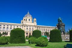 Museum of Natural History. Vienna. Austria Royalty Free Stock Images