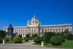 Museum of Natural History.Vienna. Austria Royalty Free Stock Photography