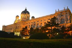 Museum of Natural History in Vienna, Austria. One of the most interesting natural history museums Royalty Free Stock Photography