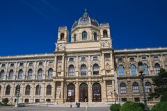 Museum of Natural History. Vienna. Austria Stock Image