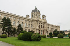Museum of Natural History in Vienna. View of the Natural History Museum in Vienna Stock Photo