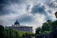 Museum Of Natural History In Vienna Royalty Free Stock Image