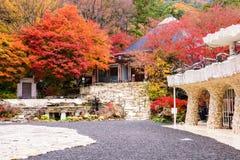 Museum near Kawaguchi Lake, Japan Stock Photo