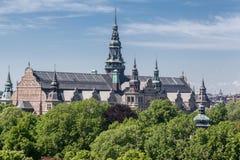 museum nordiska stockholm Royaltyfri Foto