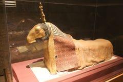 Museum of Nubia Egypt. Egypt, Aswan, Ancient Antiques at Museum of Nubia Egypt 20 September 2017 Royalty Free Stock Photos