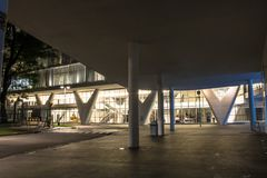 Free Museum Of Contemporary Art In Sao Paulo Stock Photography - 117748702