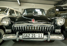 Museum of Old Soviet Cars Royalty Free Stock Images