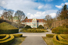 Museum in the Oliwa park Stock Photography