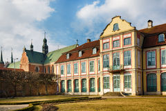 Museum in the Oliwa park Royalty Free Stock Photos