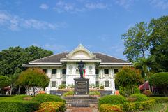 Museum på Phrae Thailand Arkivfoto
