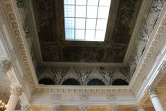 Museum/paleis Royalty-vrije Stock Afbeeldingen