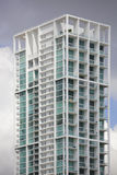 10 Museum Park condominium. MIAMI - SEPTENBER 10: Image of 10 Museum Park which is a luxury residential condominium located at 1040 Biscayne Boulevard at a Royalty Free Stock Image