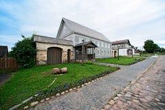 Museum park Izborsk Stock Photos
