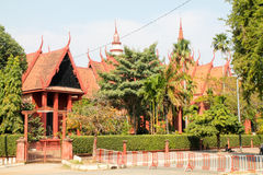 Museum of Phnom Penh. Royalty Free Stock Images