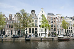 Museum for photography Huis Marseille on prinsengracht in centre Royalty Free Stock Photos