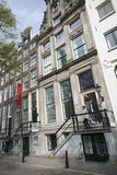 Museum for photography Huis Marseille on prinsengracht in centre Royalty Free Stock Images